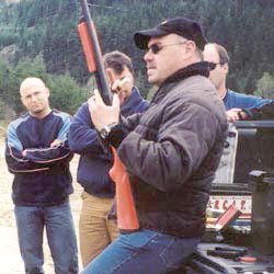 Bear safety instructors from Bear Scare offers wildlife management training